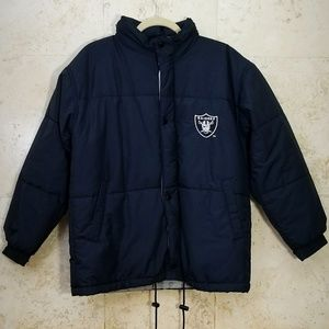 NFL Oakland Raiders Puffer Jacket